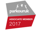 Parkour UK Associate Member 2017 Badge
